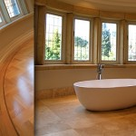 Bathroom Design by New Build Construction Company in Cheshire